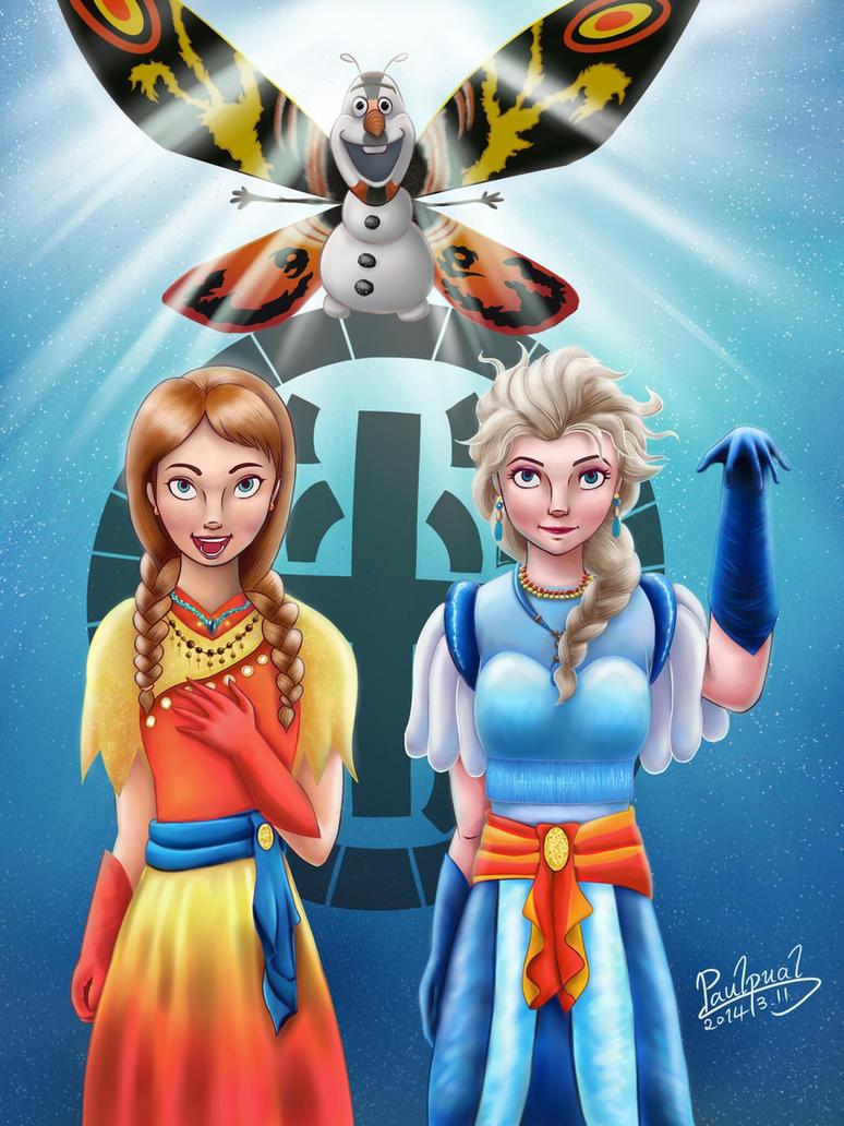 Frozen crossover Mothra-color by paulpual on DeviantArt