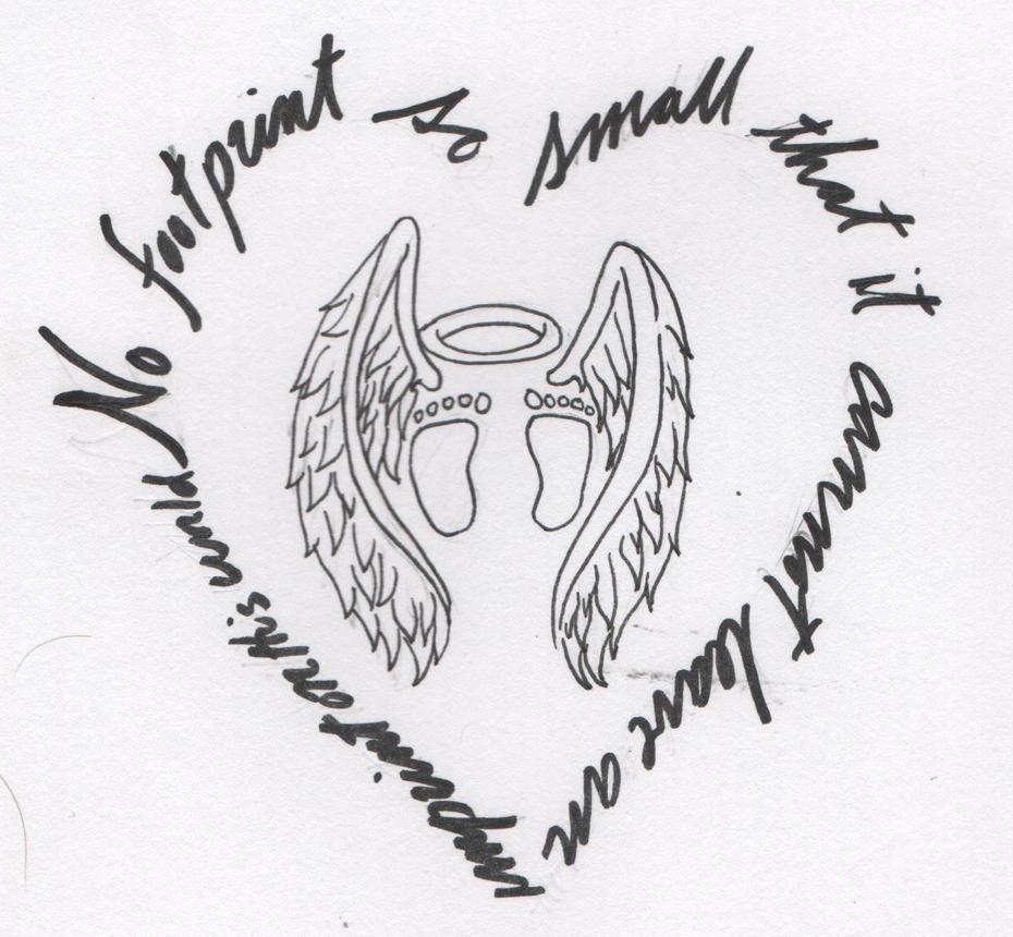 Tattoo lost baby by akumaenzeru on deviantart for Tattoo designs for lost baby