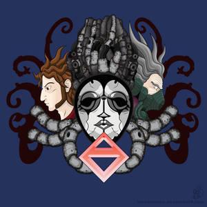 Three Faces (Axiom Verge T-Shirt Design)