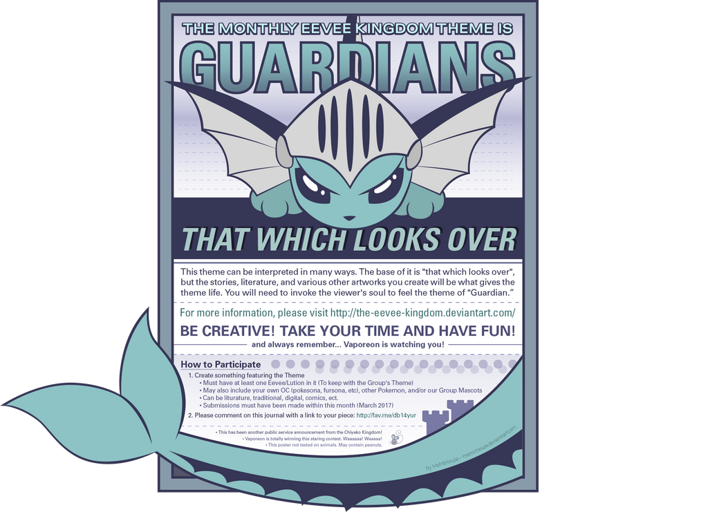 March Theme: Guardians by MeMiMouse
