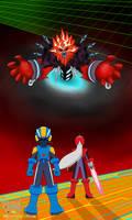 MegaMan Battle Network 5 Promo Art (Unofficial)
