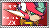 I support Rockman ZX stamp
