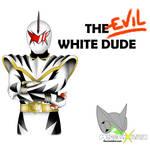 White Dino Ranger Shirt Commission