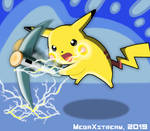 Pikachu Shockwave by Mega-X-stream