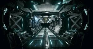 UE4 Modular Sci Fi Corridor
