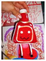Ketchup Chan Doll by ketchuphouse