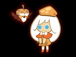 Cream Puff cookie by MIYUSKA25