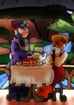 [AT] Tea time by J4zzRat
