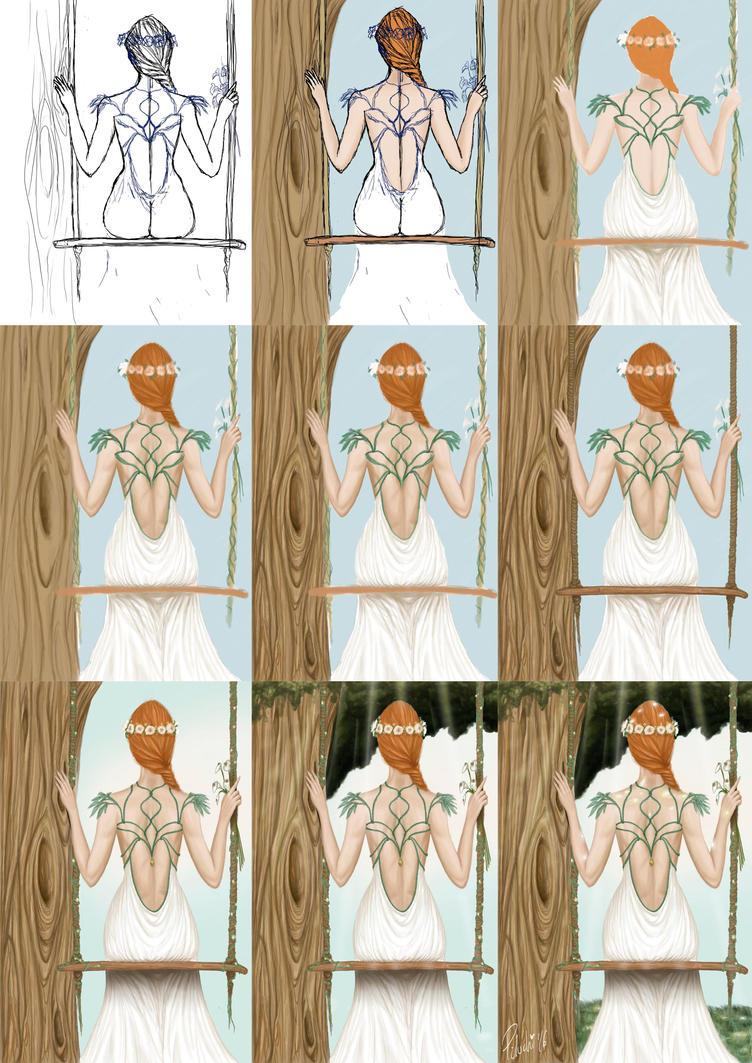 Bride Process by Piluchi