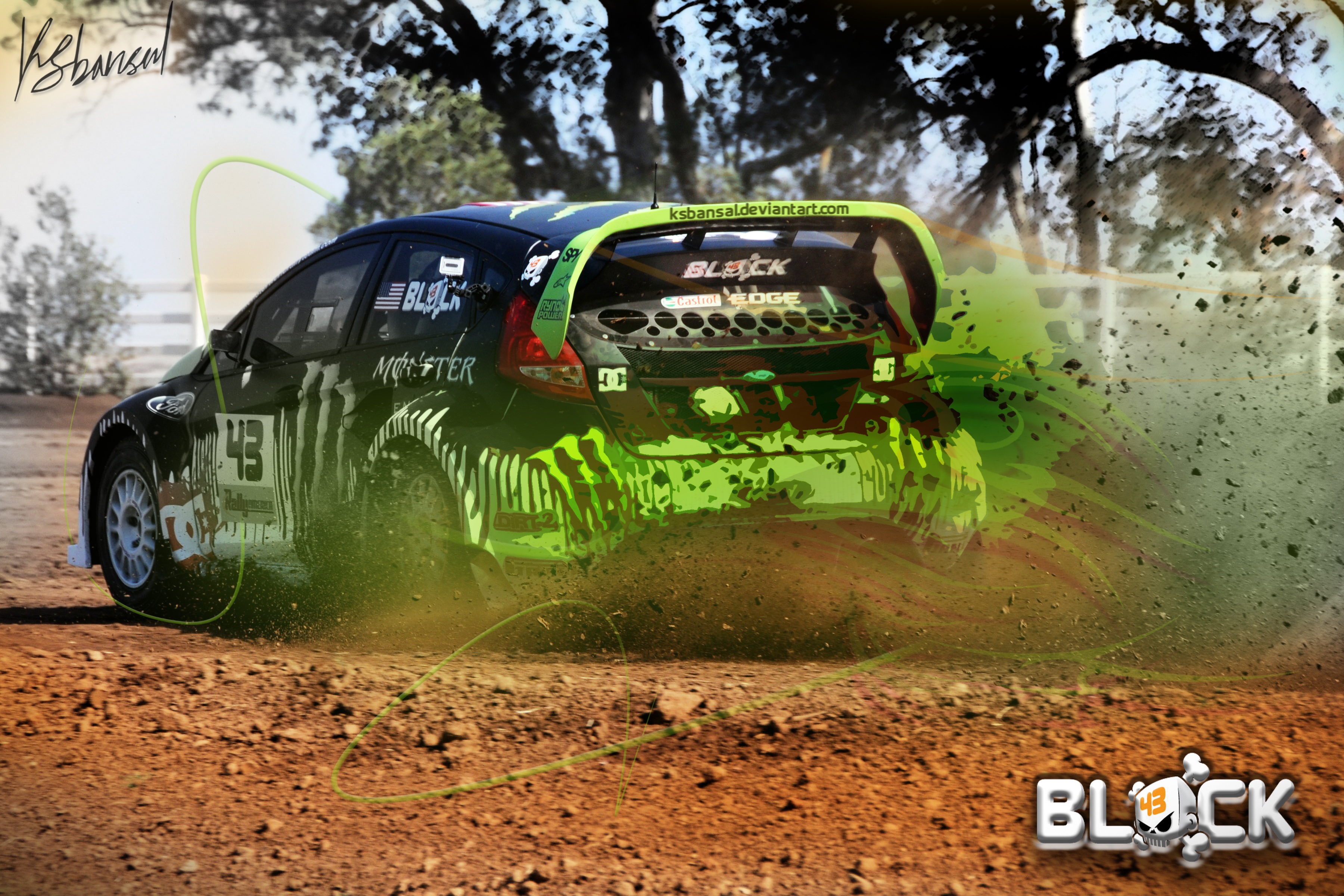 Kenblock gymkhana wallpaper by ksbansal on DeviantArt Gymkhana 5 Wallpaper
