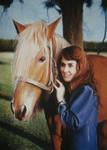 woman and horse plus tutorial
