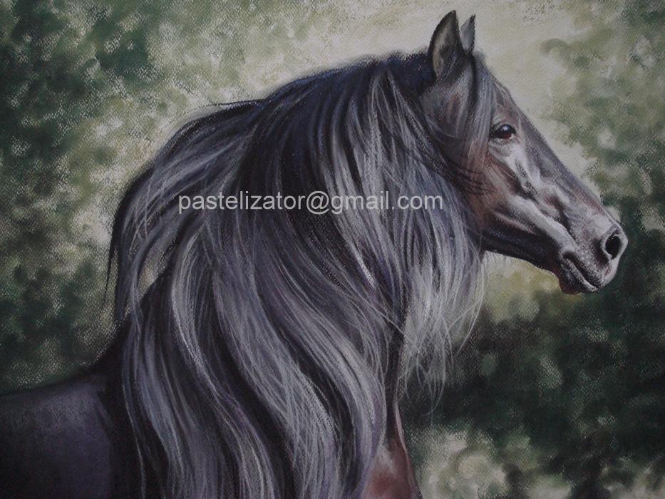 Horse Pastel Hair Fandango by PASTELIZATOR