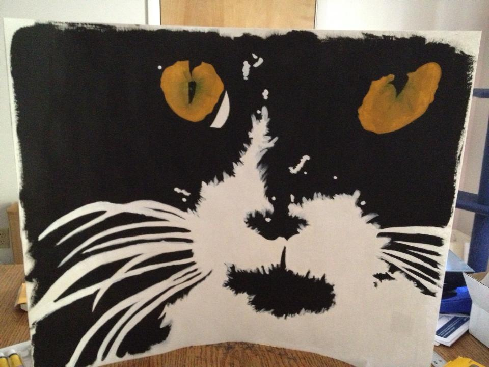 CatPainting by violethorizon