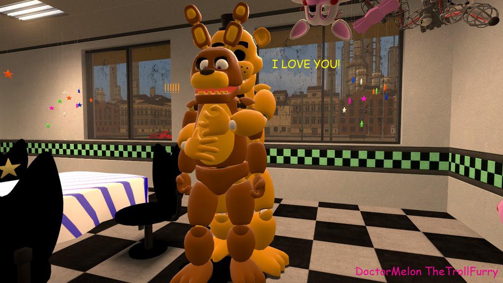 Goldly Hug By DoctorMelon On DeviantArt