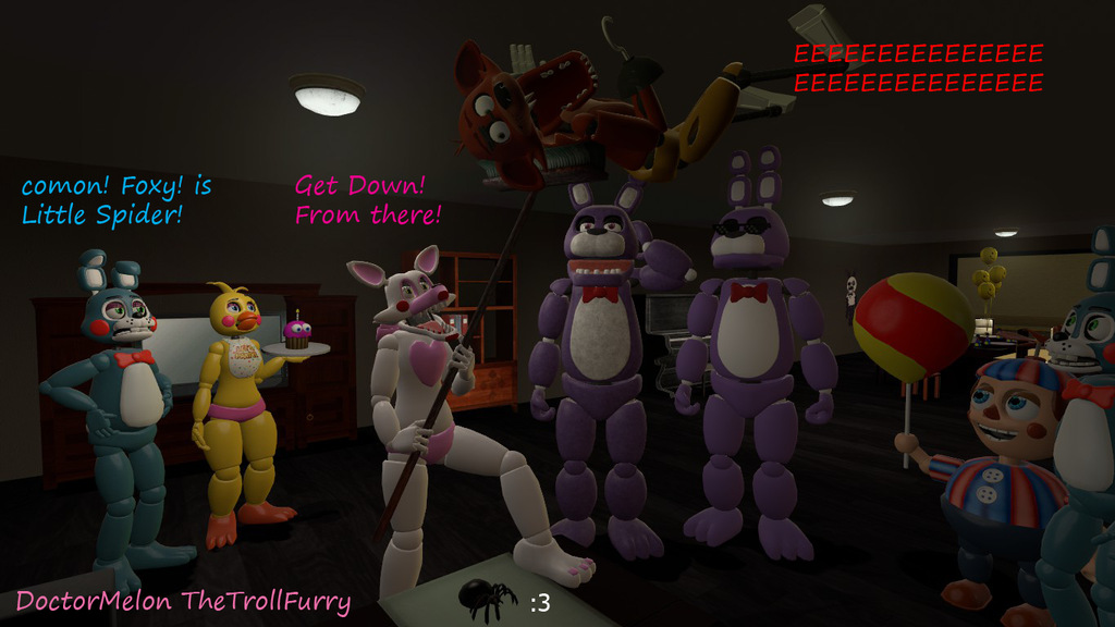 Little Fear Of Foxy By DoctorMelon On DeviantArt