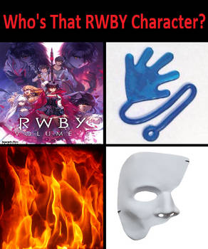 Who's That RWBY Character?!?!?!