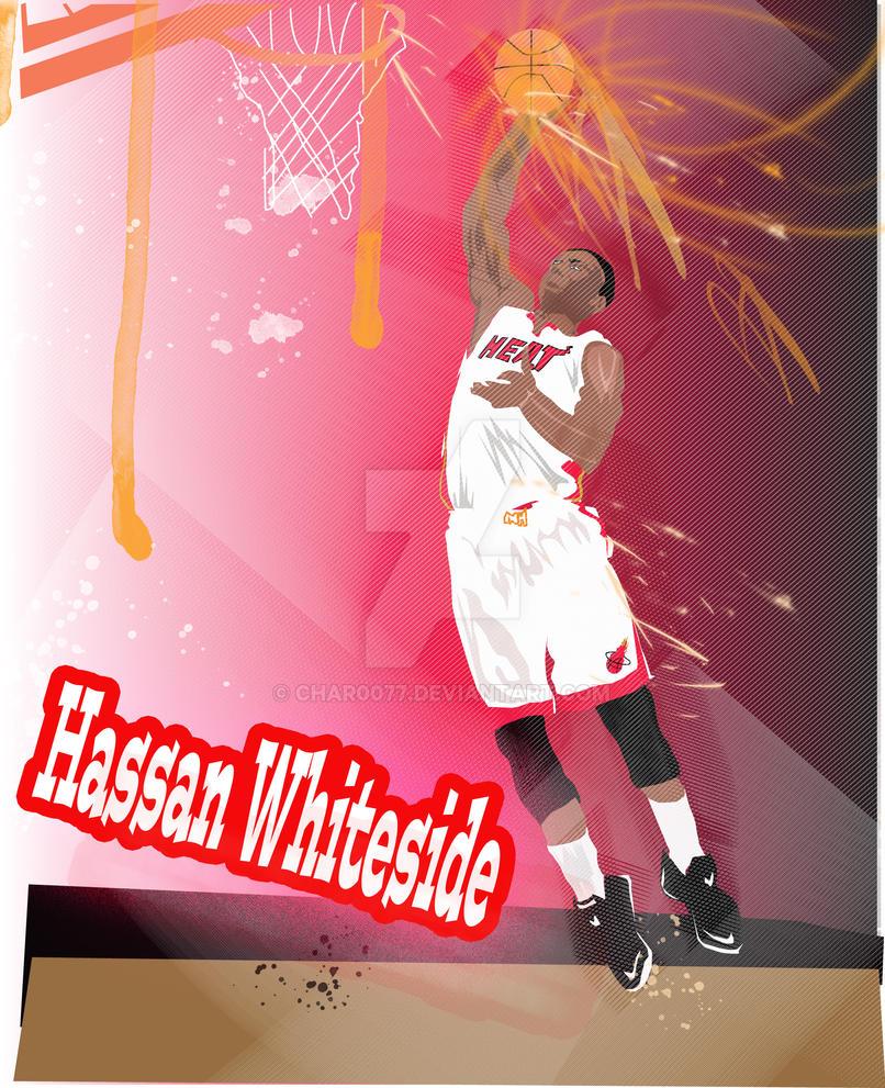 Hassan whiteside m h by char0077 on deviantart - Hassan whiteside wallpaper ...