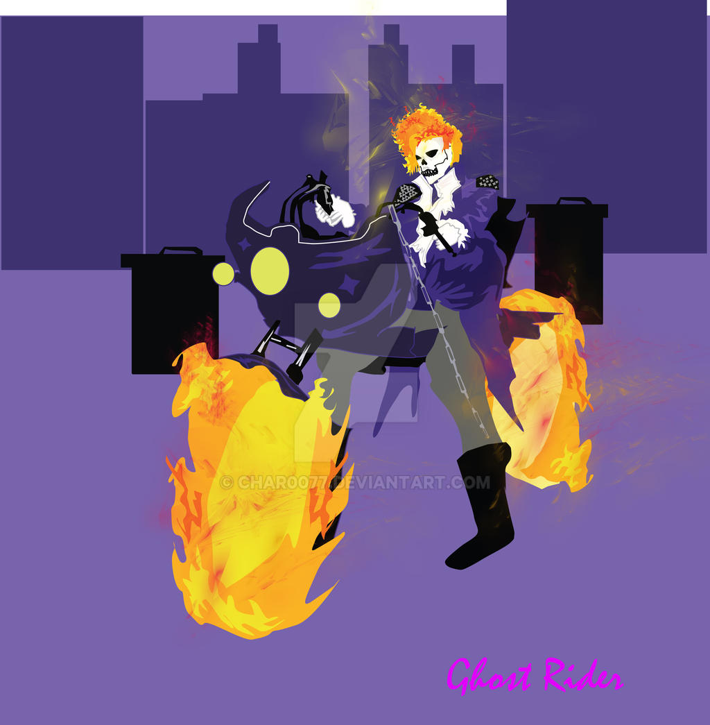 Ghost Rider Prince Purple Rain By Char0077 On DeviantArt