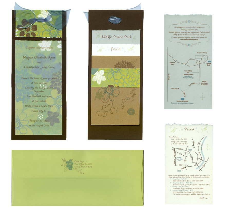 Custom Wedding Invites by chasing-butterflies