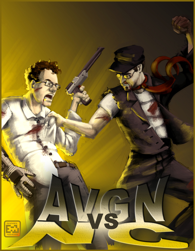 avgn vs nc poster by startaft33 on deviantart