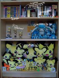 Collection Shelf - 12-11-09 by koigokorosakura
