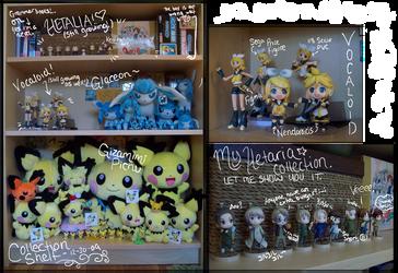 Collection Shelf - 12-30-09 by koigokorosakura