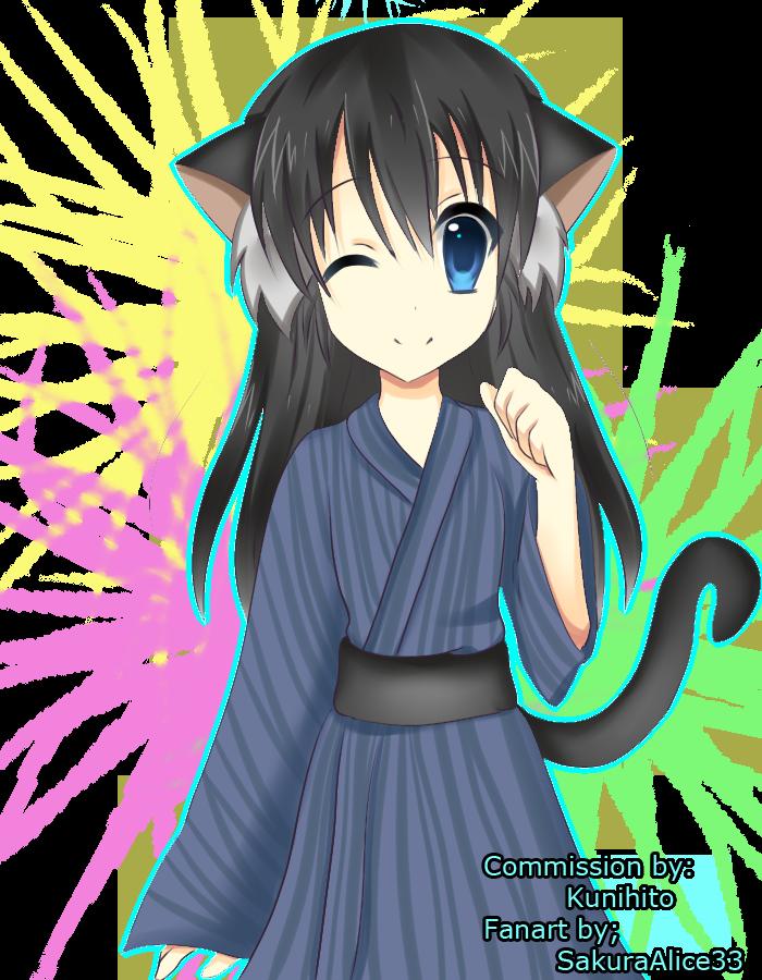 Com: Neko Miyuki by SakuraAlice33