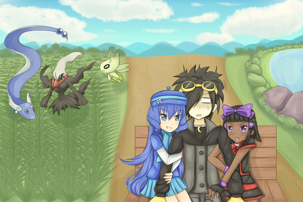 Pokemon Trainers by SakuraAlice33