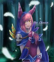 :Comm: Xayah (Classic skin League of Legends) by SakuraAlice33
