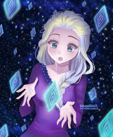 Frozen II Elsa: Into the Unknown by SakuraAlice33