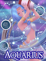 Zodiacs {Aquarius} The Water Bearer by SakuraAlice33
