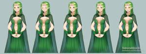 VN ::Commission: Aviva Character Sprite