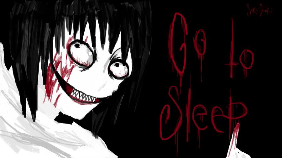 Just go to sleep by Riw-BloodyUsagii