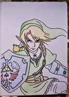 Link by Drawings-forever