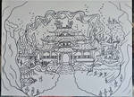 Okami - Dragon  Palace by Drawings-forever