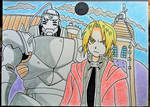 full metal alchemist -  fanart by Drawings-forever