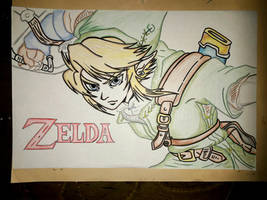 Link - 2 version by Drawings-forever