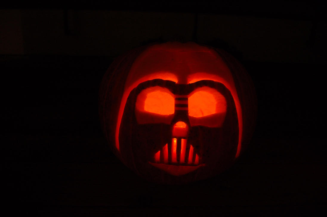 Darth Vader - The Pumpkin by A-Teivos on DeviantArt