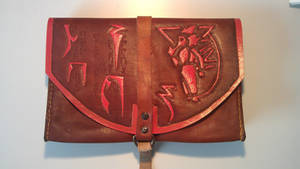 Leather bag by A-Teivos