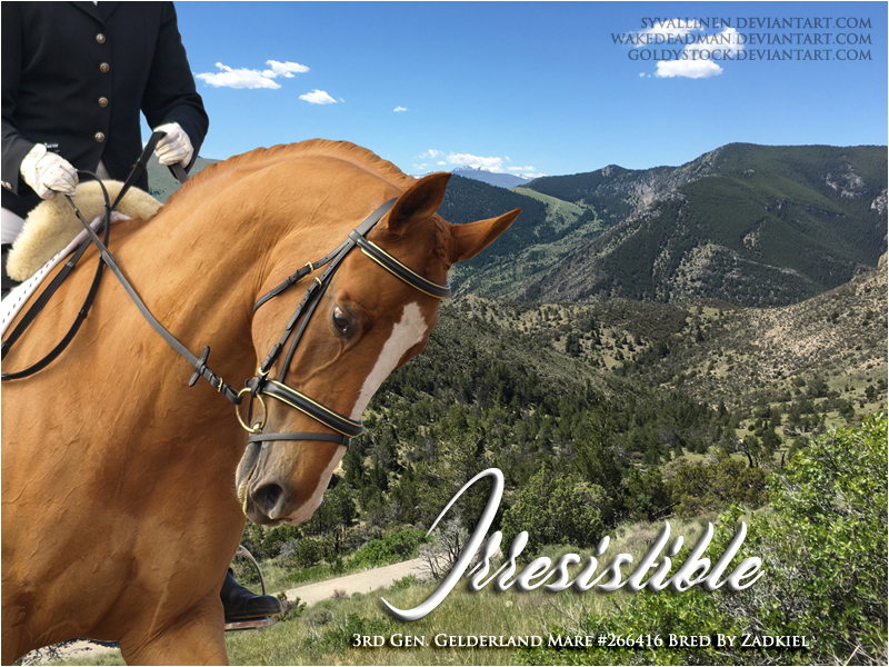 Irresistible - for Zad on HP by syvallinen