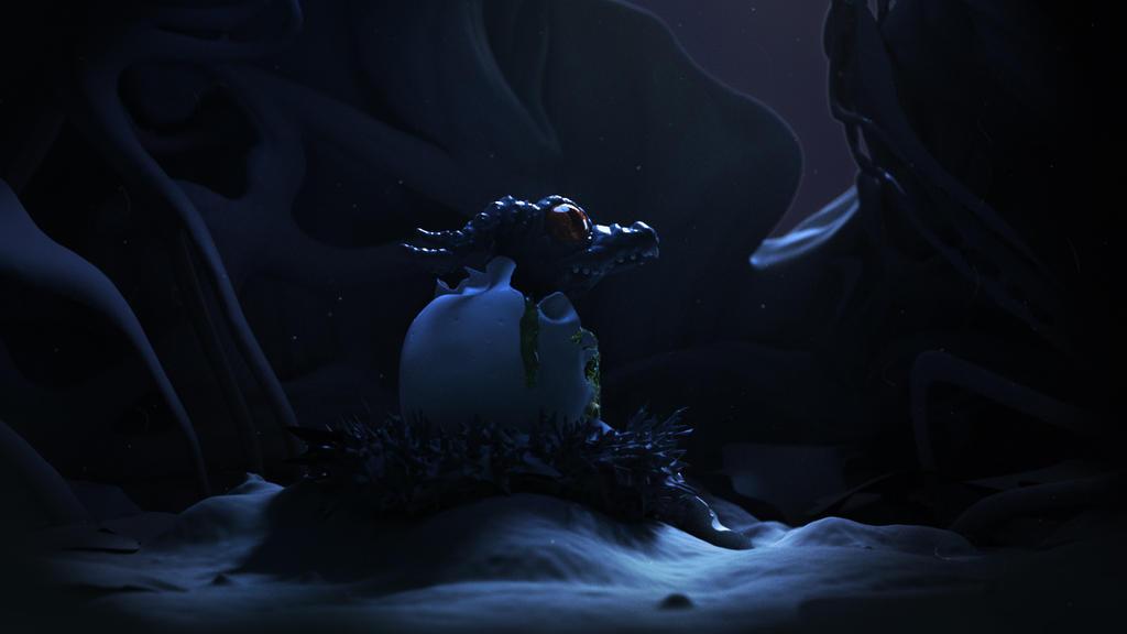Moon Dragon by Mckronic