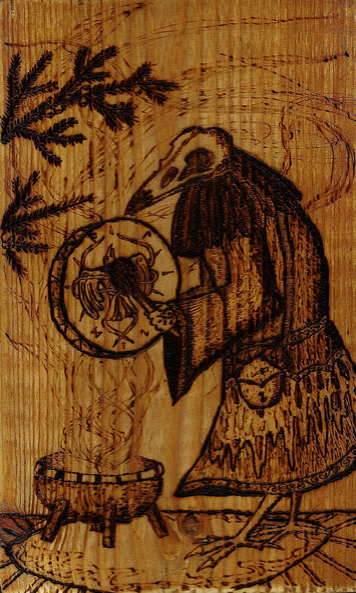 25 Crow Seidr by Trollwoods
