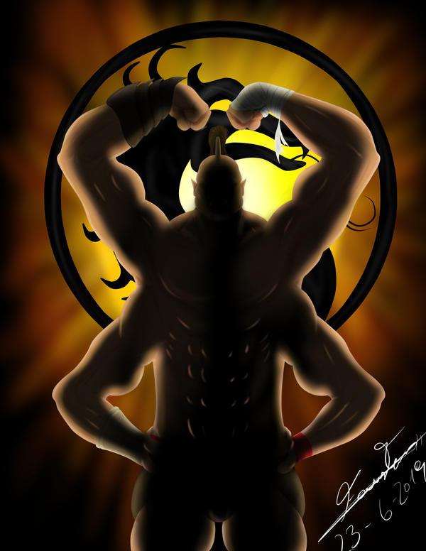 52 week challenge - 12 week (Goro - Mortal Kombat) by
