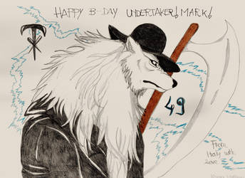 The dead man celebrates 49 years! by AntlersofDeer