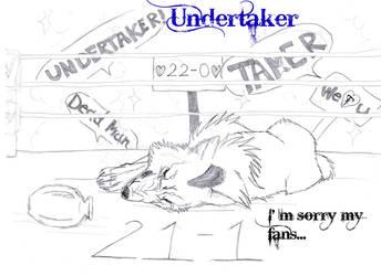 The Undertaker was beaten by AntlersofDeer