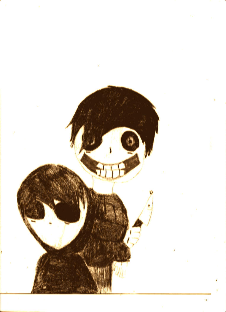 Jeff the Killer and Eyeless Jack by RicoFan13