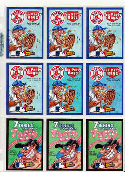 2016 MLB Wacky Packages