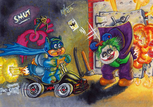 Batty BRAD and Joking JODY