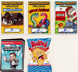 Wacky Packages 50th Anniversary