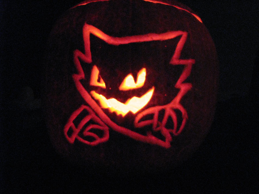 Haunter Jack-O-Lantern by shadowprincess104